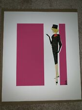 Retro Barbie Wall Art Rare COA hard To Find