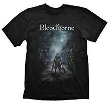 Bloodborne Men's Night Street Short Sleeve T-shirt Black Medium