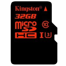 Kingston Sdca3/32gb Carte Microsdhc/sdxc Uhs-i U3 90r/80w (sdca3) avec ADA #6934