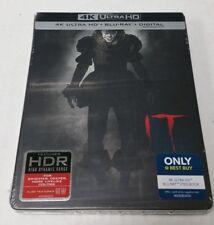It 4K Ultra HD HDR Blu-Ray Collectible Steelbook NEW