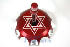 NEW RED CNC BILLET FUEL GAS CAP For CR125 CR100 CR230F CR250 M GC15