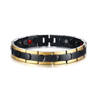 Men Man Health Care Magnet Therapy Bracelet Energy Arthritis Pain Relief Chain