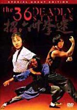 36 Deadly Styles    - Hong Kong RARE Kung Fu Martial Arts Action movie - NEW DVD