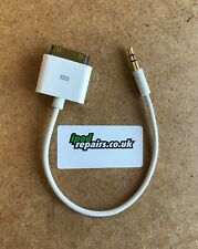 Salida de línea Cable Dock 30 Pin Apple Ipod Iphone Ipad 3.5mm Audio Amplificador conector jack de entrada AUX