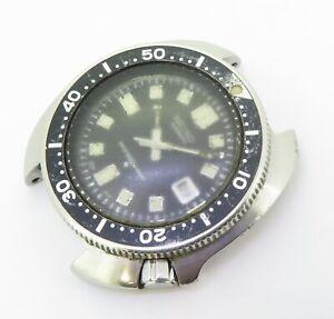 Vintage Seiko 6105 - 8110 Steel Mens 150m Divers Watch Nice Patina $1 No/Res