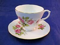 "VINTAGE DUCHESS TEA CUP AND SAUCER - BONE CHINA - ENGLAND - ""EDITHE"" 401"