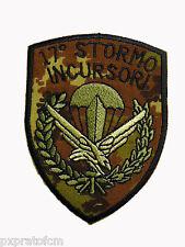Patch Aeronautica Militare 17 Stormo Incursori Mimetica Vegetata Scudetto Toppa