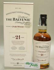Single Malt Scotch Whisky THE BALVENIE 21 YO PORT Wood cl. 70 40%vol