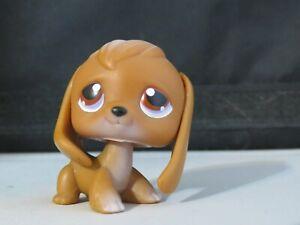 Littlest Pet Shop  ❀ LPS ❀ Rare brown beagle Monopoly 16