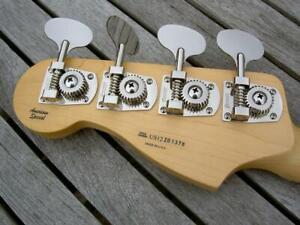 Hipshot® HB7 Bass Tuners~27:1~Fender Std/Highway 1~Lollipop Key~Nickel~Brand New