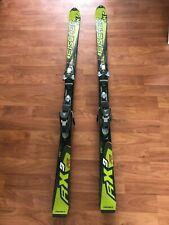 Fischer RX9 FTi skis 170 cm w/ Fischer FX12 adjustable bindings