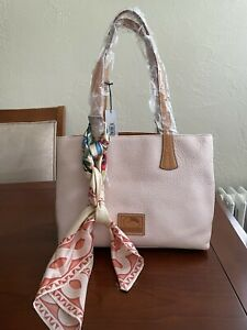 Dooney and Bourke Handbag  Tote pink Pebbled Leather NEW with defects