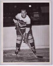 IVAN IRWIN GENUINE ORIGINAL TYPE 1 BOSTON OLYMPICS HOCKEY 8x10 PHOTO NHL RANGERS