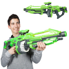 Vortex Giant Sniper Gun Nerf For Boys Scope Pistol Shotgun Blaster Machine Green