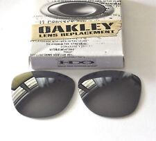 Oakley Frogskins Gafas de Sol Color Negro IRIDIO Lentes ( Marca Nuevo y