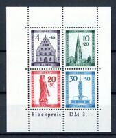 franz. Zone Baden MiNr. Block 1 A postfrisch MNH (F046