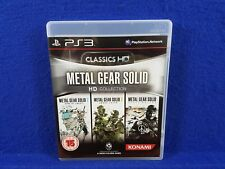 ps3 METAL GEAR SOLID HD Collection Inc. 2 + 3 + Peace Walker PAL UK