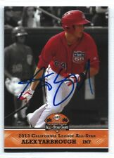 Alex Yarbrough signed 2013 Los Angeles Angels, Inland Empire Cal All-Star