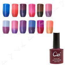 Professional Temperature Changed Colour Changed UV Soak Off Gel Nail Polish 10ml