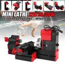 Mini Lathe Bench Drill Machine DIY Woodwork Model Making Tool Lathe Milling Ma