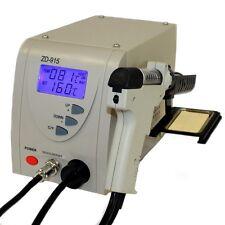Regelbare digitale Entlötstation ZD-915ESD Entlötkolben Entlötpumpe B-WARE