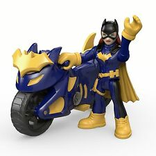 Fisher-Price Imaginext DC Super Friends Batgirl Cycle Action Figure ORIGINAL