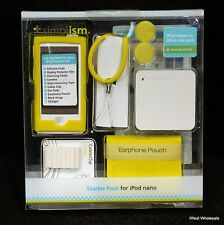 iPod nano 7th Gen - YELLOW Silicone Case Starter Pack | Simplism (Lot of 10)
