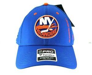 New York Islanders NHL Blue Baseball Cap Stretch Fit L/XL