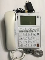 AT&T CL4940 Corded Standard Phone with Answering System and Backlit Display W...