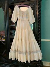 New listing Vintage Gunne Sax Maxi Dress 1970s Sheer Prairie Boho Romantic Hippie Frock