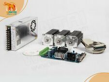 【USA SHIP & Free】Nema 23 Wantai Stepper Motor 270oz-in,3A+3 Axis Board 3D CNC