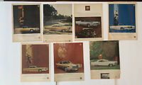 Lot 7 Vintage Cadillac Fleetwood Deville & More Car Ads 1960s 1970s