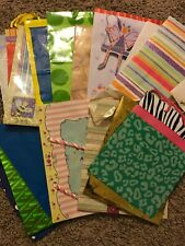 Lot Of 16 Gently Used Assorted Gift Bags