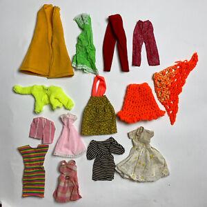 Vintage Barbie Clothes Hat Shoes Furniture Lot 89 pi