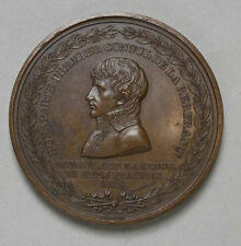 BONAPARTE 1RST CONSUL BATTLE OF MARENGO BRONZE MEDAL