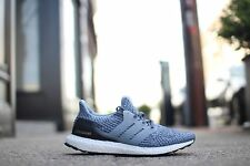 Adidas Ultra Boost 3.0 Primeknit Blue Black White Oreo - 8.5UK 42.7EU S80685 NEW