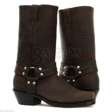 d866a1452699 Grinders King CS Black 20 Hole Men s Ladies Safety Cap Steel Toe BOOTS  Leather Mens UK
