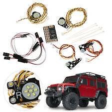 LED Front + Rear lights + IC Lamp Group Lampshade Board for TRAXXAS Trx4 RC CAR