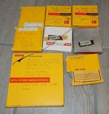Lot of 8 Vintage 8mm Home Movie Films Amateur Family Holiday Vacation 70's Lot#3