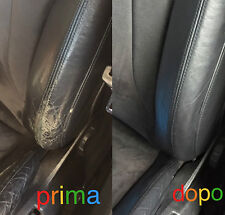 Set Regenera Tónico Color Spallina Pintar Piel VW GOLF Retoque NEGRO interior