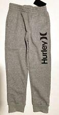 NWT Hurley Boy's Youth Small 8 Dark Heather Gray Joggers Sweatpants 983595-042