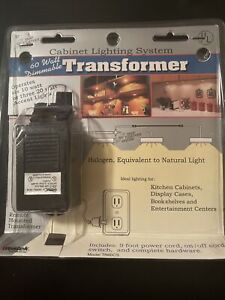 60 Watt Dimmable Transformer - Cabinet Lighting System(six 10 watt or 3 20 watt)