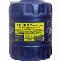 Original MANNOL 1x20 Liter Energy Formula PD 5W-40 API SN/SM/CF Öl Motoröl