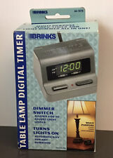 New Brinks Digital Timer With Dimmer Switch Multipurpose Lamps Clock Indoor Use