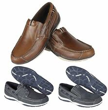Red Tape Loafers 100% Leather Casual Shoes for Men