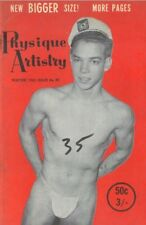 Physique Artistry No.30 Winter 1963 by Lon Vintage British Edition Gay Magazine