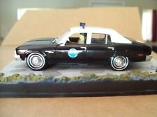 "CHEVROLET NOVA POLICE Movie ""LIVE AND LET DIE"" JAMES BOND 007 1/43 DIORAMA NEW"