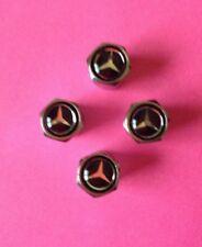 MERCEDES Benz Cromato Lega Ruota Polvere Tappi A B C E G S Class GLE GLA AMG ML SL