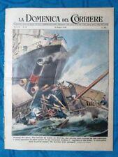 La Domenica del Corriere 12 giugno 1949 Anzio - Novara - Mazzini - Giro d'Italia
