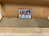 1982 TOPPS BASEBALL CARDS COMPLETE SET OF 792  RIPKEN ROOKIE